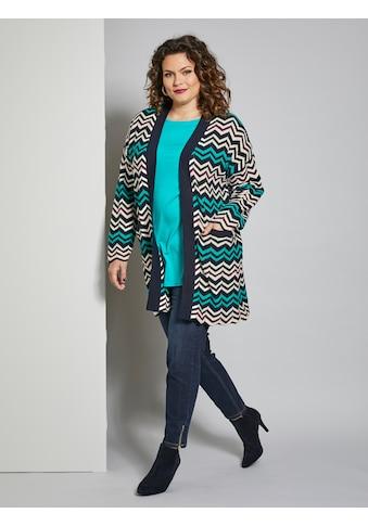 Sara Lindholm by Happy Size Strickjacke kaufen