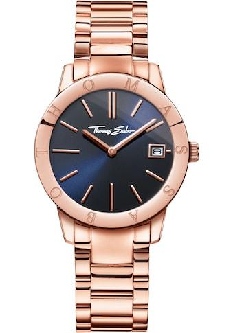 THOMAS SABO Quarzuhr »Soul Rosé Blue, WA0215-265-209-33 mm« kaufen