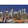 Papermoon Fototapete »Manhattan Skyline«, Vliestapete, hochwertiger Digitaldruck