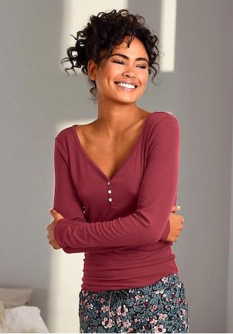 s.Oliver Bodywear Langarmshirt kaufen