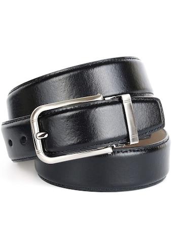 Anthoni Crown Ledergürtel, mit hochwertiger Schließe kaufen