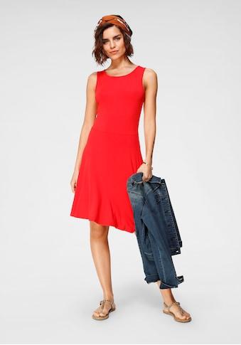 Tamaris Jerseykleid, (2er-Pack), gemustert + uni - NEUE KOLLEKTION kaufen
