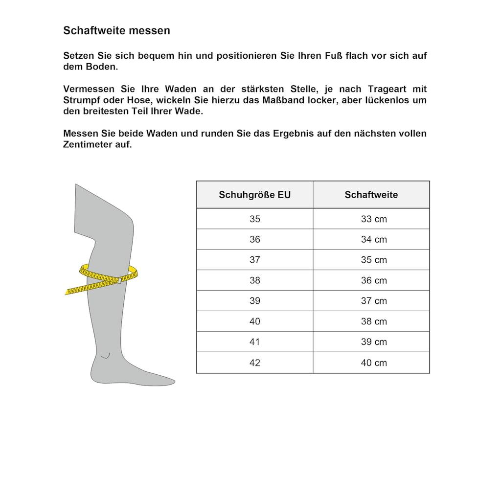 Mjus Stiefel »BEATRIX«, in edler Verarbeitung