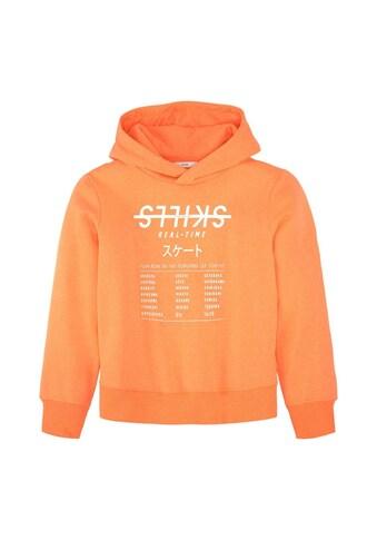 TOM TAILOR Kapuzensweatshirt »Hoodie mit Print« kaufen