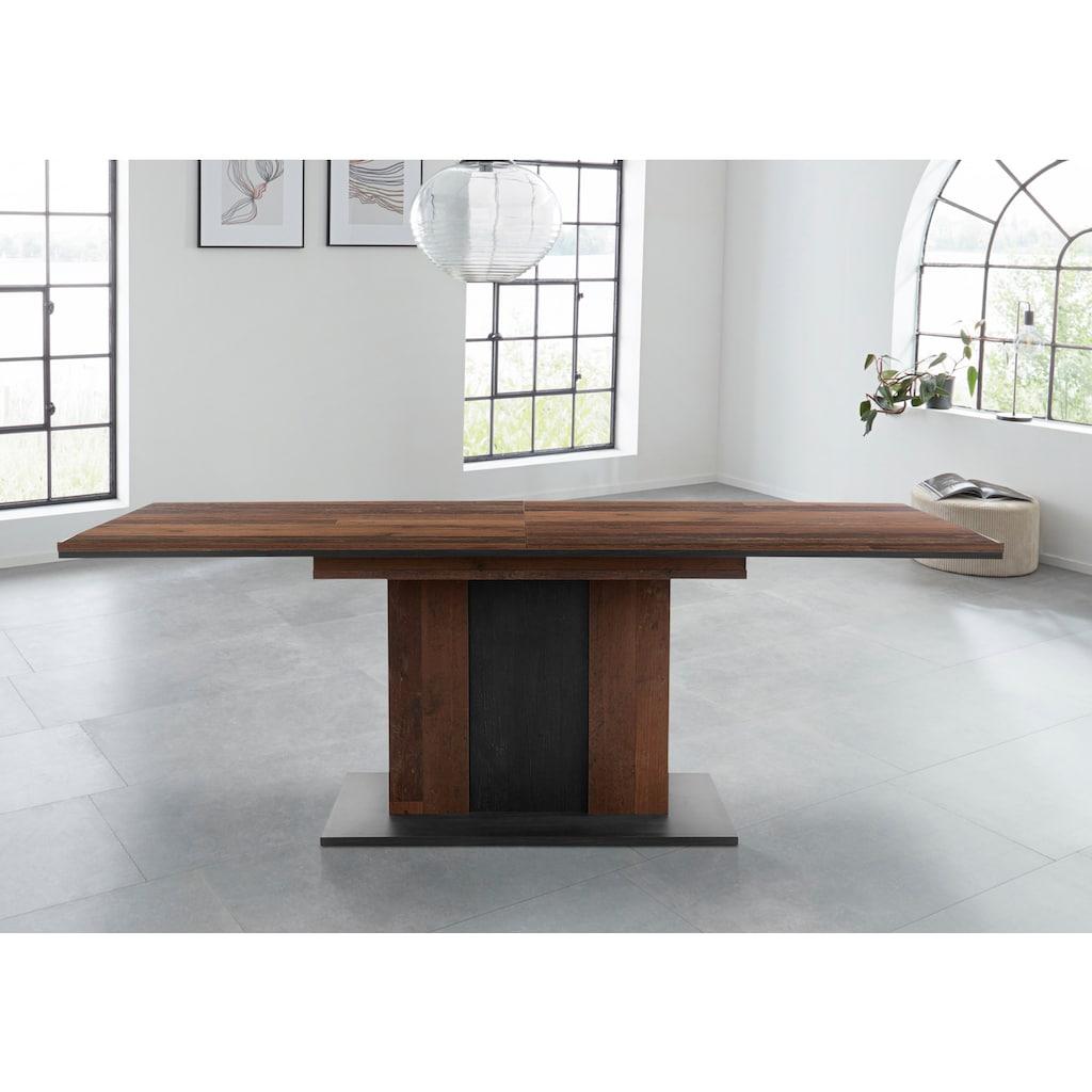 HELA Esstisch »Atlanta T«, Ausziehbar von Breite 160-210 cm