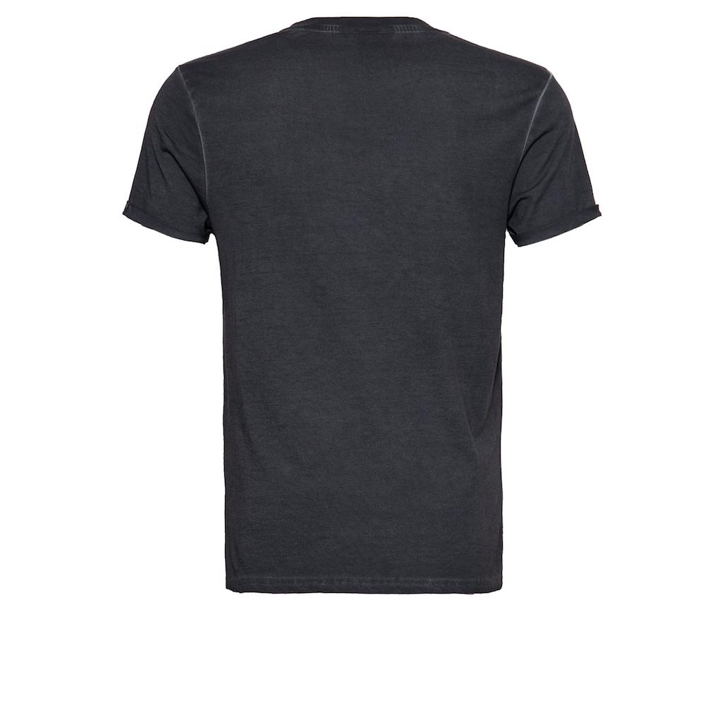 KingKerosin Print-Shirt »Race till die«, im Used Look