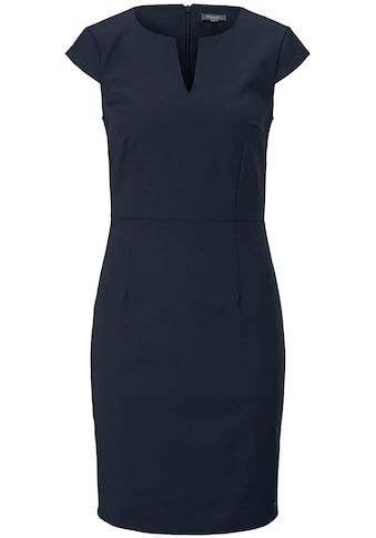 TOM TAILOR mine to five A-Linien-Kleid, in taillierter Passform mit kleinem V-Ausschnitt kaufen