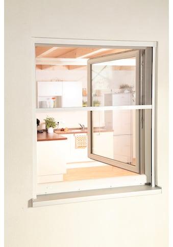 hecht international Insektenschutz-Rollo »SMART«, für Fenster, weiß/anthrazit, BxH:... kaufen