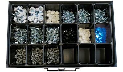 RAMSES Sortimentskasten , mit Kennzeichenschrauben, 595 Teile kaufen