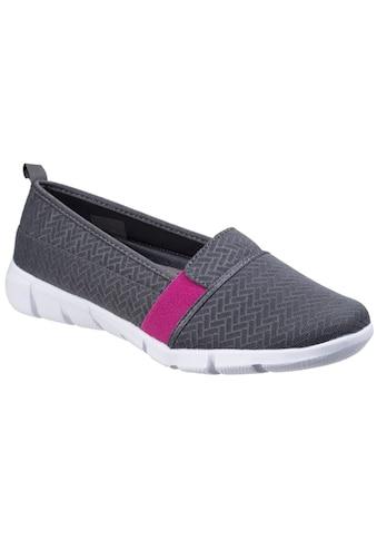Fleet & Foster Slip - On Sneaker »Damen Leinen Sommerschuhe« kaufen