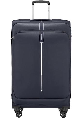 Samsonite Weichgepäck-Trolley »Popsoda, 78 cm, dark blue«, 4 Rollen kaufen