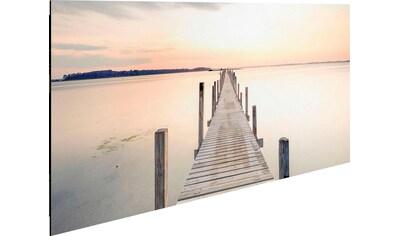Reinders! Deco-Panel »Morgenstille am See« kaufen