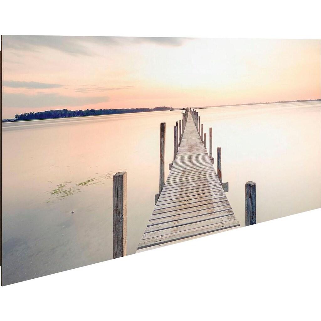 Reinders! Deco-Panel »Morgenstille am See«