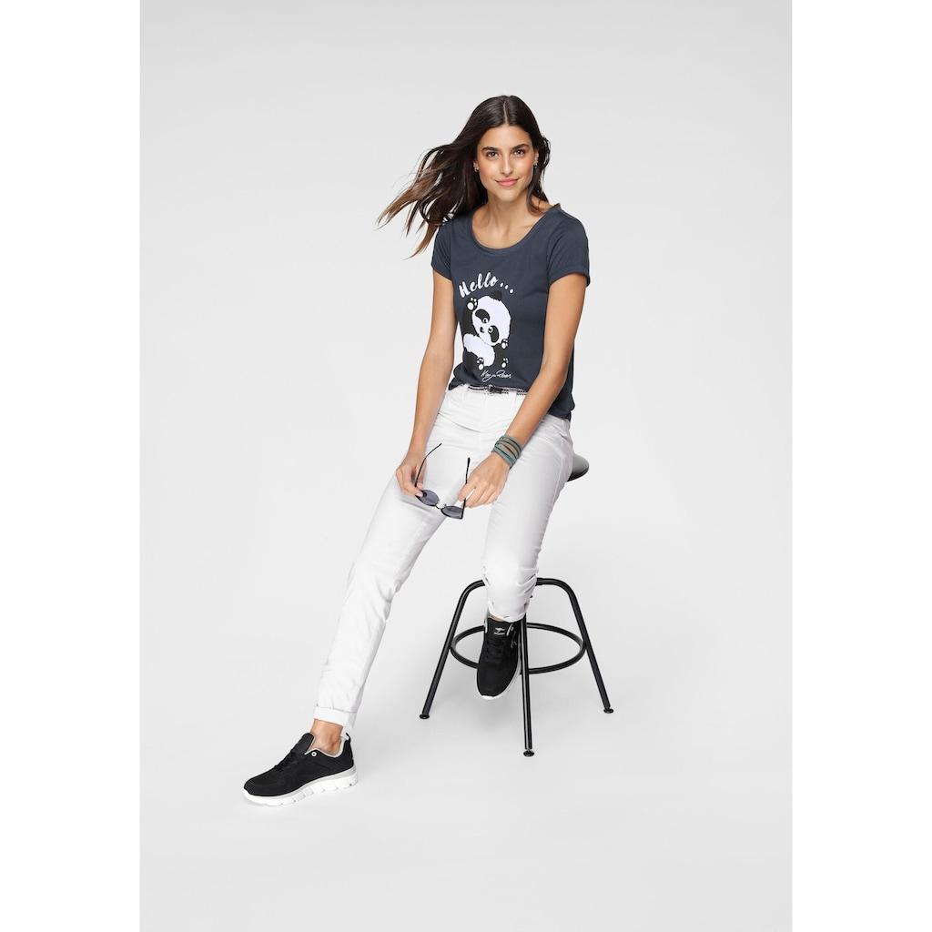 KangaROOS T-Shirt, mit niedlichem Pandaprint vorne und hinten