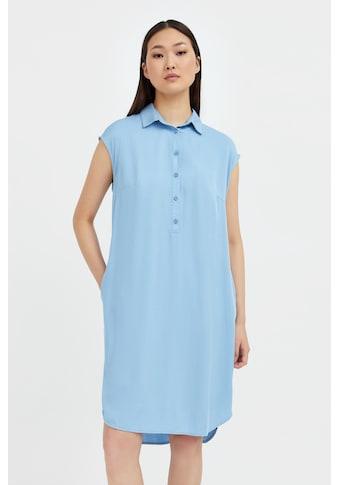 Finn Flare Jerseykleid, mit halblanger Knopfleiste kaufen