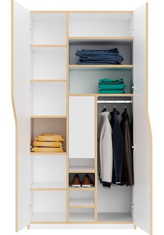 Müller SMALL LIVING Kleiderschrank »PLANE Ausstattung Nr. 5«, inklusive einer... kaufen