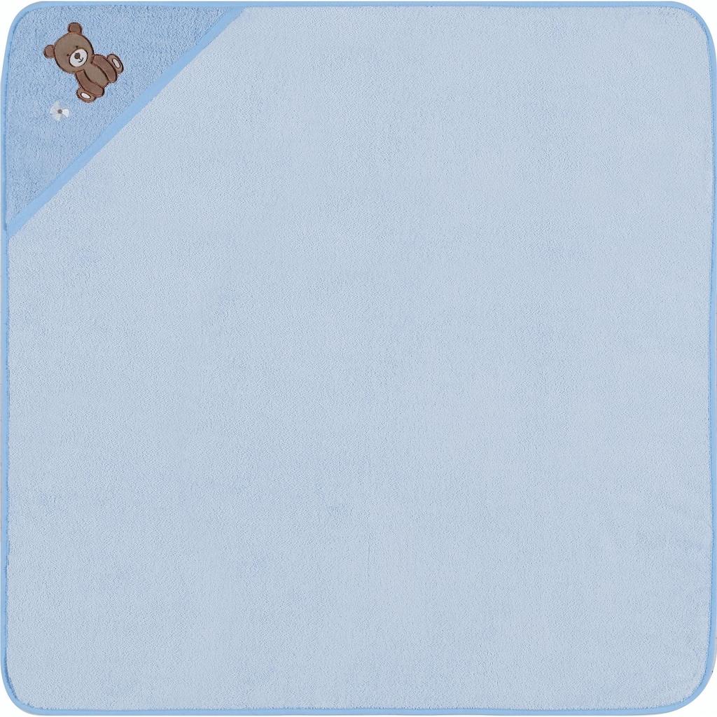 Egeria Kapuzenhandtuch »Teddy Bear«, (1 St.), mit Stickerei