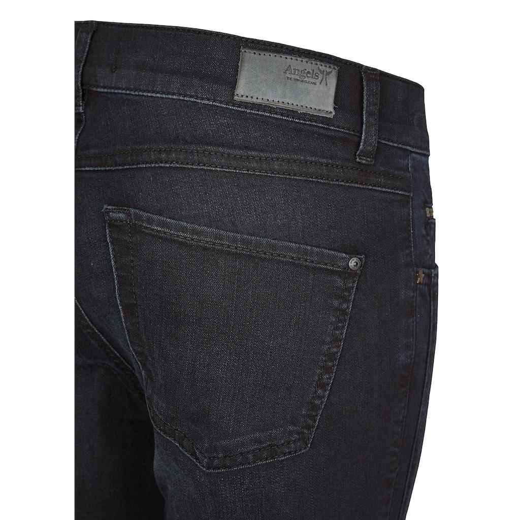 ANGELS Jeans 'Cici Zip' mit Zip-Details