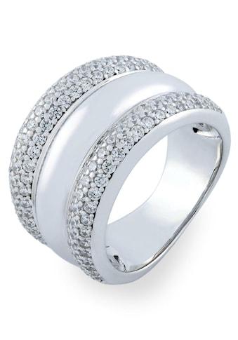 VILMAS Silberring »True Romance Secret Kiss, 4028146492547, 54, 61«, mit Zirkonia kaufen