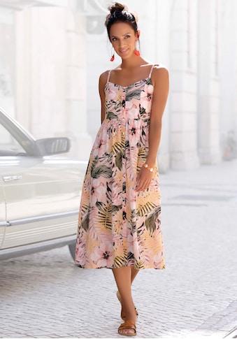 LASCANA Sommerkleid, aus Leinenmix kaufen