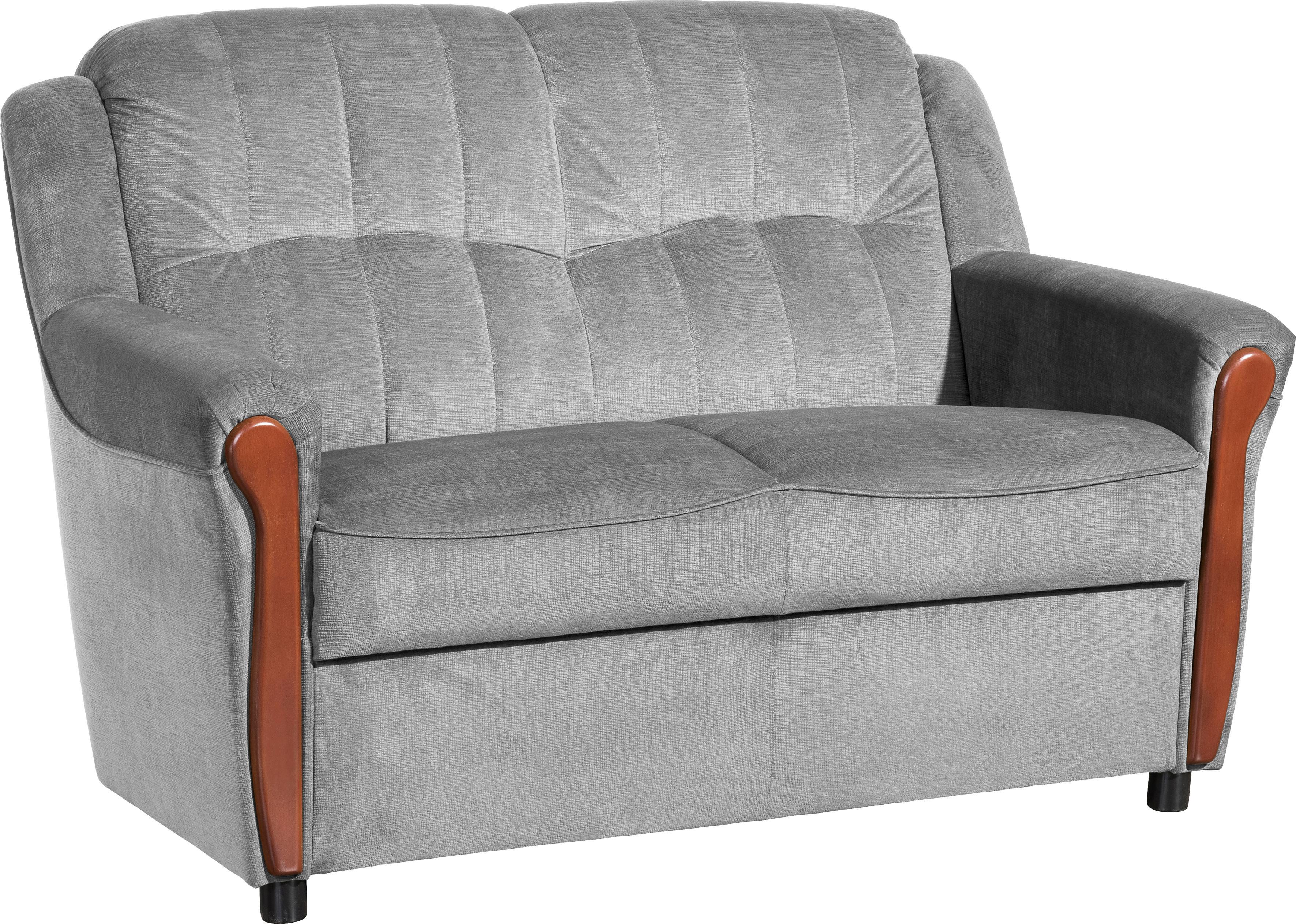 Max Winzer 2-Sitzer Sofa Trier mit Sichtholzschabracken Breite 130 cm
