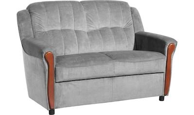 Max Winzer® 2-Sitzer »Trier«, mit Sichtholzschabracken, Breite 130 cm kaufen