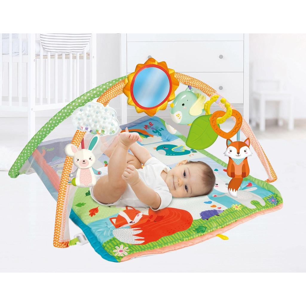 Clementoni® Spielbogen »Clementoni Baby - Baby, For You - Aktivitäts-Matte«