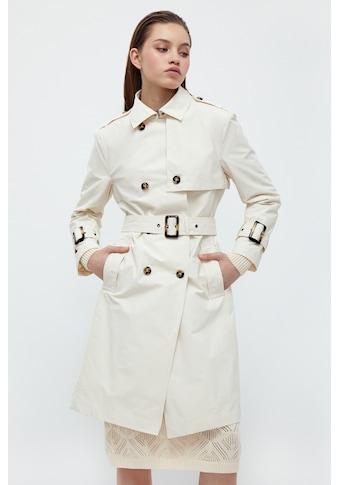 Finn Flare Trenchcoat »-«, mit praktischem Gürtel kaufen
