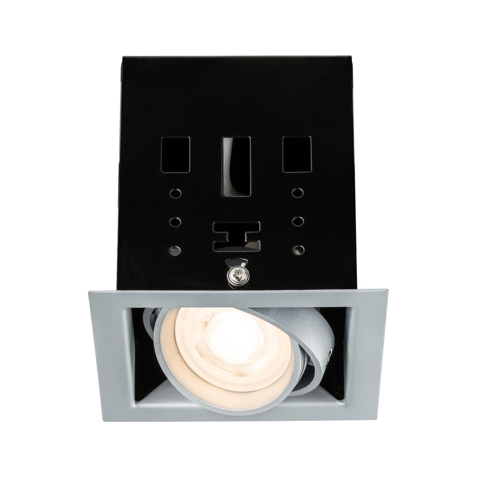 Paulmann,LED Einbaustrahler Premium Set Cardano 7W Titan dimmbar und schwenkbar