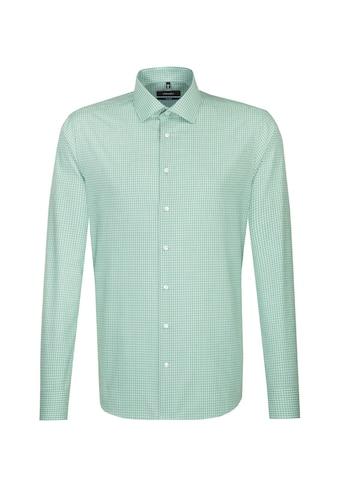 seidensticker Businesshemd »Tailored«, Tailored Langarm Kentkragen Karo kaufen