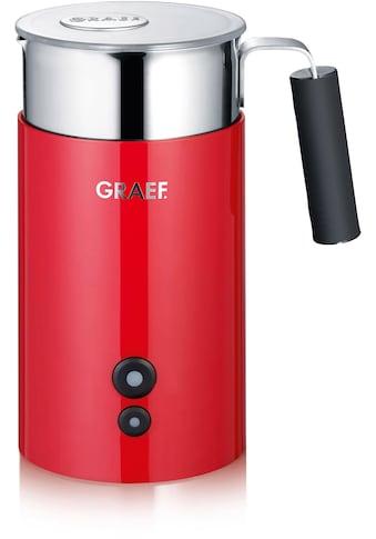 Graef Milchaufschäumer »MS 703, rot«, automatisch kaufen