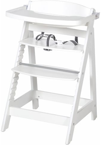 roba® Hochstuhl »Treppenhochstuhl, Sit Up Fun, weiß«, aus Holz kaufen