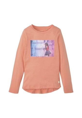TOM TAILOR T - Shirt »Langarmshirt mit Fotoprint« kaufen