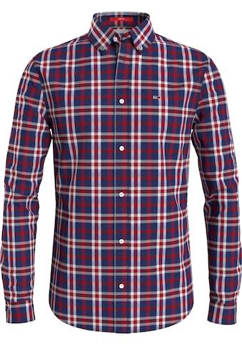 Tommy Jeans Karohemd »TJM STRETCH POPLIN CHECK SHIRT« kaufen