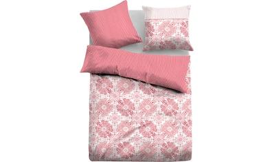TOM TAILOR Bettwäsche »Keke«, mit Blumen und Streifen kaufen