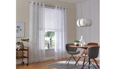 Raffrollo »Bamian«, my home, mit Schlaufen kaufen