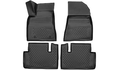 WALSER Passform-Fußmatten »XTR«, (4 St.), für Seat Ibiza IV ST Bj 03/2010 - 07/2016 kaufen