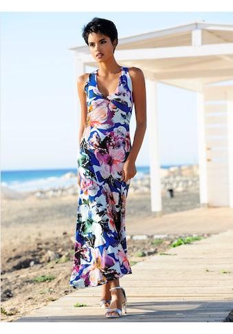 Alba Moda Strandkleid mit raffinierter Schnittführung kaufen