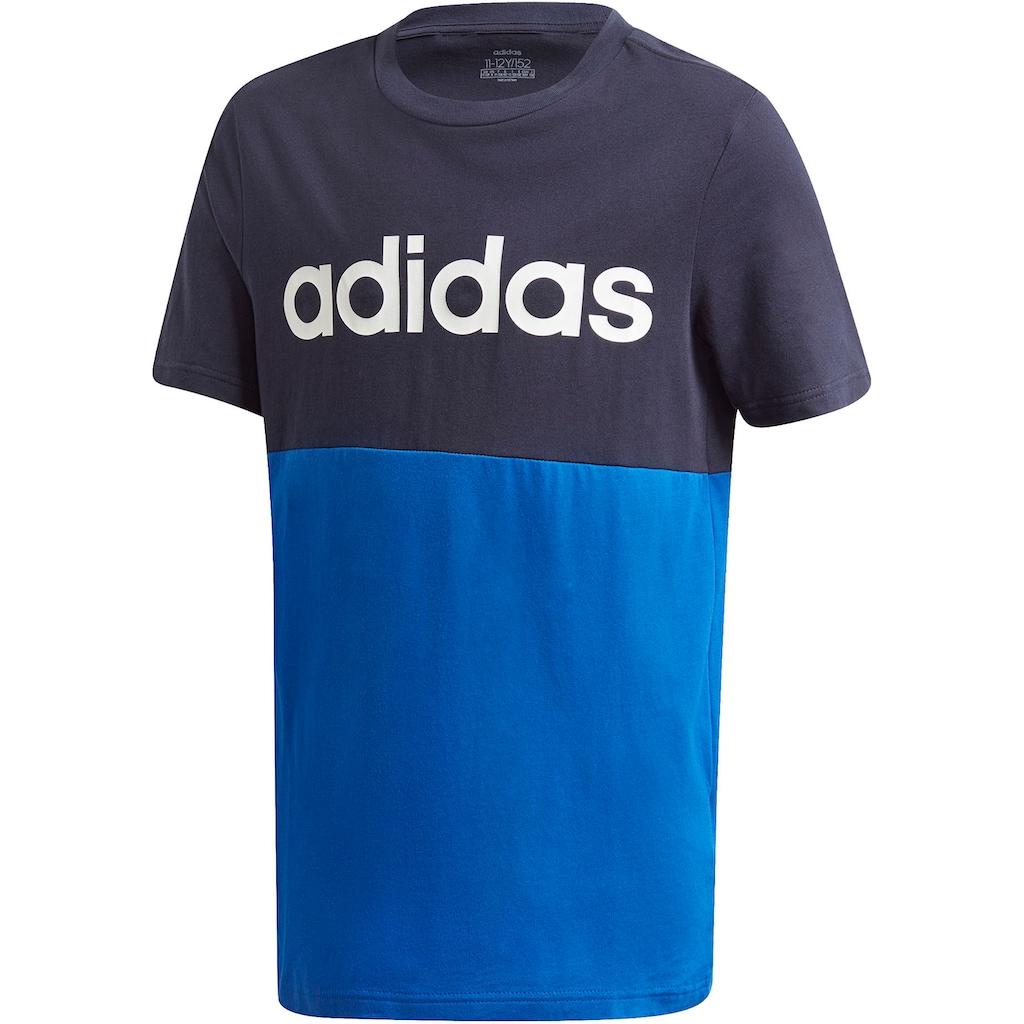 adidas Performance T-Shirt »YOUTH BOY LINEAR CLUB TEE«
