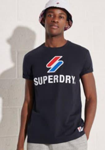 Superdry Rundhalsshirt »SPORTSTYLE CLASSIC TEE« kaufen