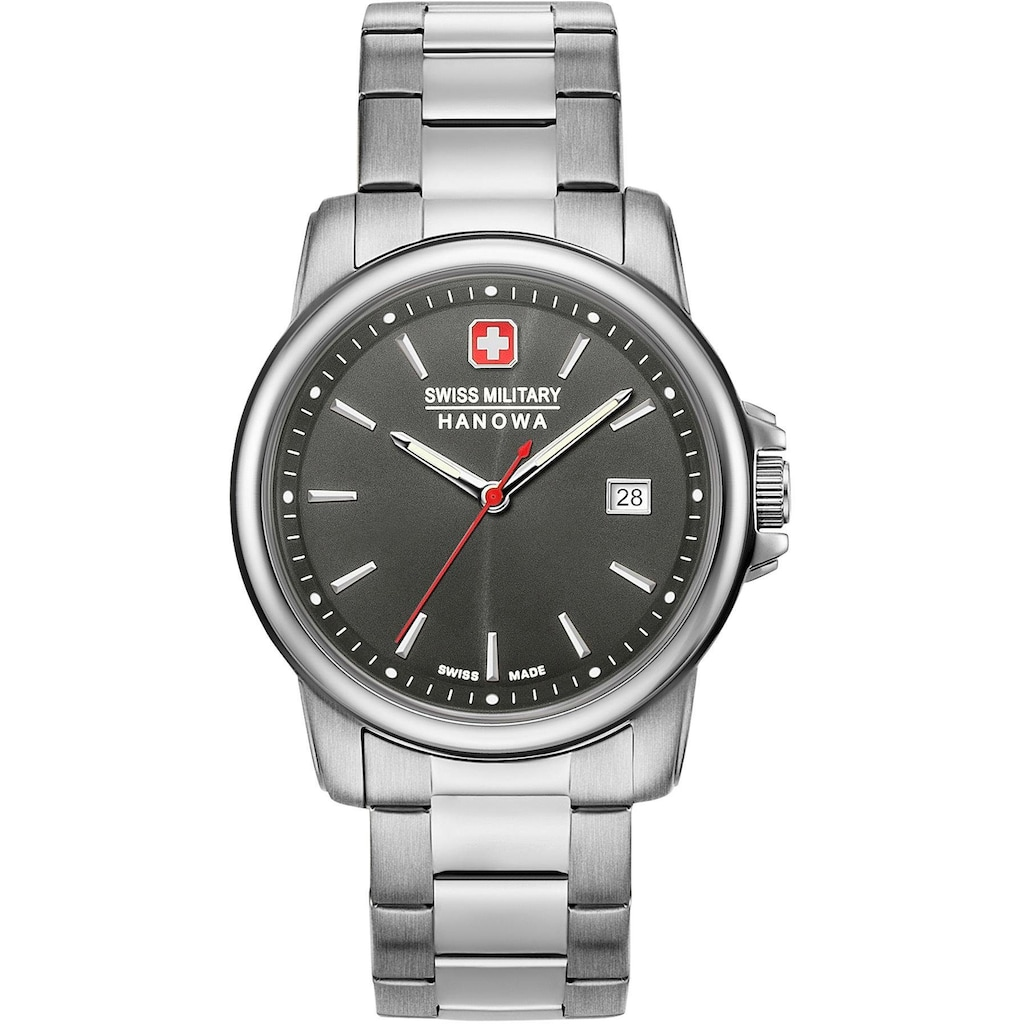 Swiss Military Hanowa Schweizer Uhr »SWISS RECRUIT II, 06-5230.7.04.009«