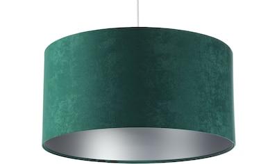 Jens Stolte Leuchten Pendelleuchte »Karin«, E27, 2 St., Textilpendel, 50cm Ø, grün,... kaufen
