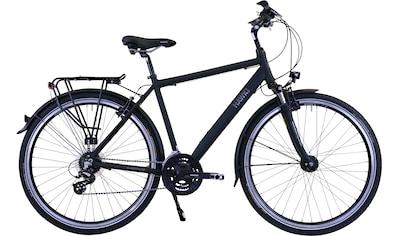 HAWK Bikes Trekkingrad »HAWK Trekking Gent Premium Black«, 24 Gang, Shimano, Altus Schaltwerk kaufen