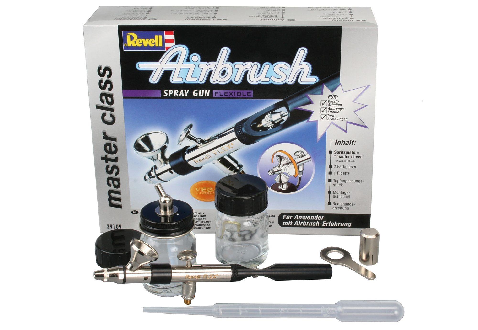 Revell® Airbrush-Pistole,  Spray gun master class Flexible  Preisvergleich