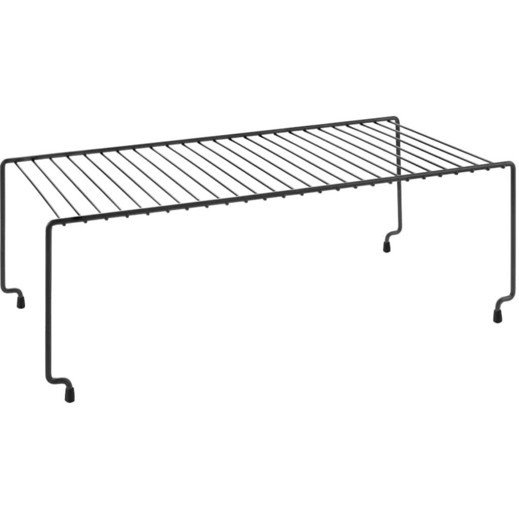 Metaltex Standregal »Lava line Brooklyene«, (2 St.), stapelbar