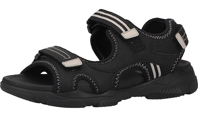 Geox Sandale »Lederimitat/Textil« kaufen