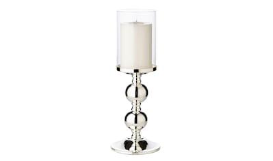 EDZARD Kerzenständer »Bamboo«, Kerzenleuchter für Stumpenkerzen, Kerzenhalter mit... kaufen