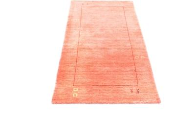 morgenland Wollteppich »Loribaft Teppich handgewebt rosa«, rechteckig, 15 mm Höhe,... kaufen