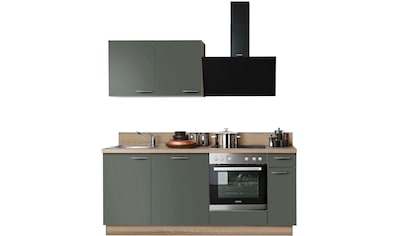 Express Küchen Küchenzeile »Scafa«, ohne E-Geräte, vormontiert, mit Vollauszug und... kaufen