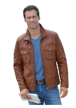 buy popular b0716 7f298 Lederjacken für Herren online auf Rechnung + Raten kaufen | BAUR